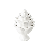 artichoke off white tulipiere organic tulip holder ceramic