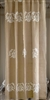 Jute Medallion 72x96 Shower Curtain