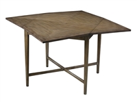 table square extendable oak wood veneers opens gray