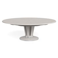 round dining table Jupe contemporary white