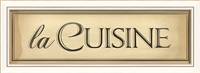 Designer La Cuisine Framed Art - USA Made Canvas + Framed Wall Art | BSEID