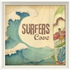 Surfers Cove - Canvas + Framed Wall Art