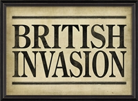 Designer British Invasion Art Print - USA-Made Wall Art | BSEID