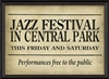 Spicher & Company Jazz Festival in Central Park Art Print
