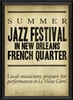 Spicher & Company Summer Jazz Festival in French Quarter Art Print