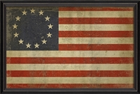 Spicher & Company America 1776 Betsy Ross Flag Art Print