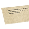paper cards handmade quotes inspirational messages rustic natural