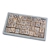 Sugarboo & Co. Wooden Message Blocks - Six Message Puzzle