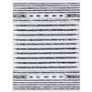 white gray patterned area rug rectangle woven