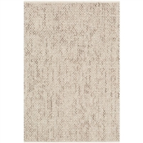 tan area rug no pile transitional