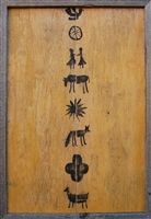 Folk Symbols - Designer Wall Art