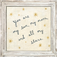 My Sun, My Moon Art Print (size and frame options)