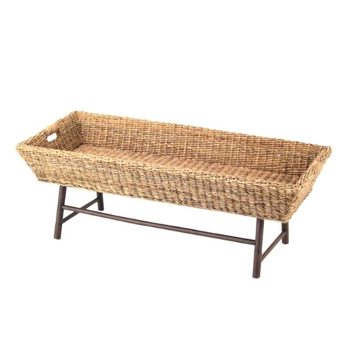 Basket Coffee Table by Padma's Plantation - Sand Inspired Home Décor