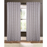 natural chain curtain drapery panels