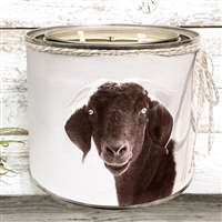 """Buttercup Cow"" Adorned Decorative Scented Soy Candle"