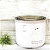 """What If I Fall"" Adorned Decorative Scented Soy Candle"
