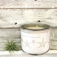 Scented Soy Candle - by the Sea, by the Sea, by the Beautiful Sea