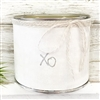 """Xo"" Adorned Decorative Scented Soy Candle"