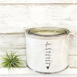 Forever & Ever My Heart Scented Soy Candle - Decorative Candleholders