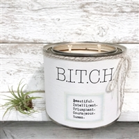 candle BITCH tin can
