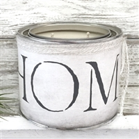 """Home"" Adorned Decorative Scented Soy Candle - USA-Made Home Décor 