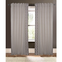 natural detailed curtain drapery panels