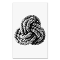 large rope photography art framed oversized coastal knot