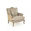 Club Chair - Belmont - Linen - French