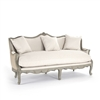 Sofa - Adele - Jute Back - French Country