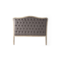 Headboard - Maison Tufted Aubergine - Upholstered (size options)
