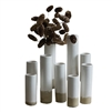 Kalalou bud vase white natural set of 9 various heights round contemporary