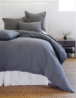 Luxury Designer Blair Midnight Bedding Collection by Pom Pom at Home