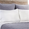 cotton velvet quilted coverlet sham ocean