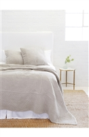 Luxury Designer Marseille Taupe Bedding Collection by Pom Pom at Home