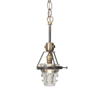 Single Telegraph Pendant - Luxury USA-Made Lighting Fixture | BSEID