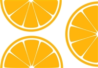 L'orange Citrus Slice Placemat Pad