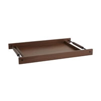 brown walnut wood tray