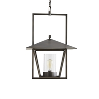black pendant light glass bronze