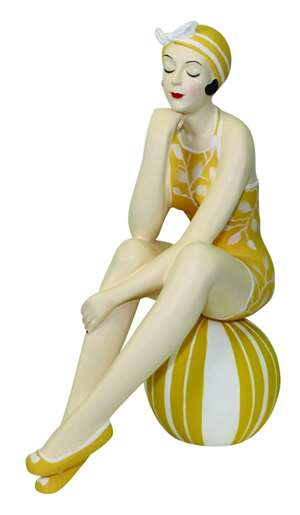 Bathing Beauty Figurine by Dr. Livingstone I Presume