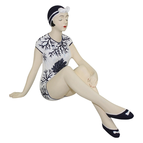 Bathing Beauty Figurine by Dr Livingstone I Presume