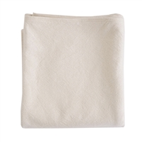 blanket natural cotton simple Evangeline Linens