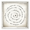 wood framed wall art print gallery wrap decor make a wish