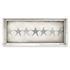 Designer Framed Canvas Art, USA-Made: Star Banner | BSEID