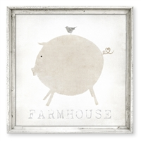 Farmhouse Love Framed Art (size + frame options)