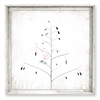 square ivory tree bluebirds hearts red