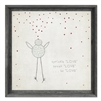 Love Wall Art - Child's Bedroom Art - USA-Made Wall Art | BSEID