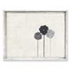 Designer Framed Canvas Art, USA-Made: 3 Flowers | BSEID