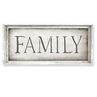 Family Framed Canvas Art - Canvas + Framed Wall Art