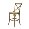 Parisienne Cafe Counter Stool - Natural Oak
