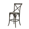 Parisienne Cafe Counter Stool - Charcoal